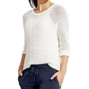 Athleta | Amity Pullover Sweater White XS